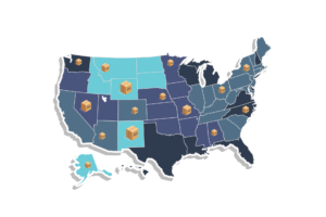 Us dropshipping suppliers map